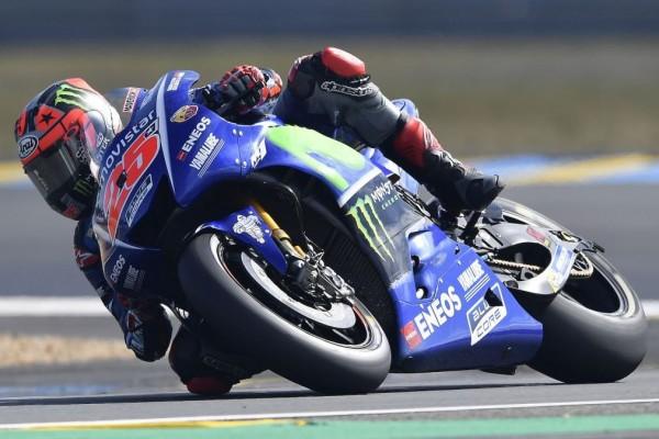 Vinales Urutan Terdepan Kulifikasi MotoGP Aragon