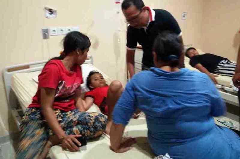 Puluhan Warga Cianjur Keracunan Nasi Kotak