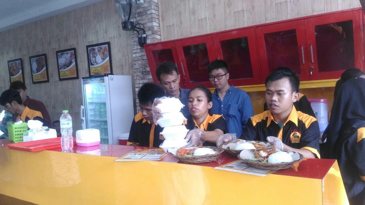 Geprek Bensu Hadir di Lampung
