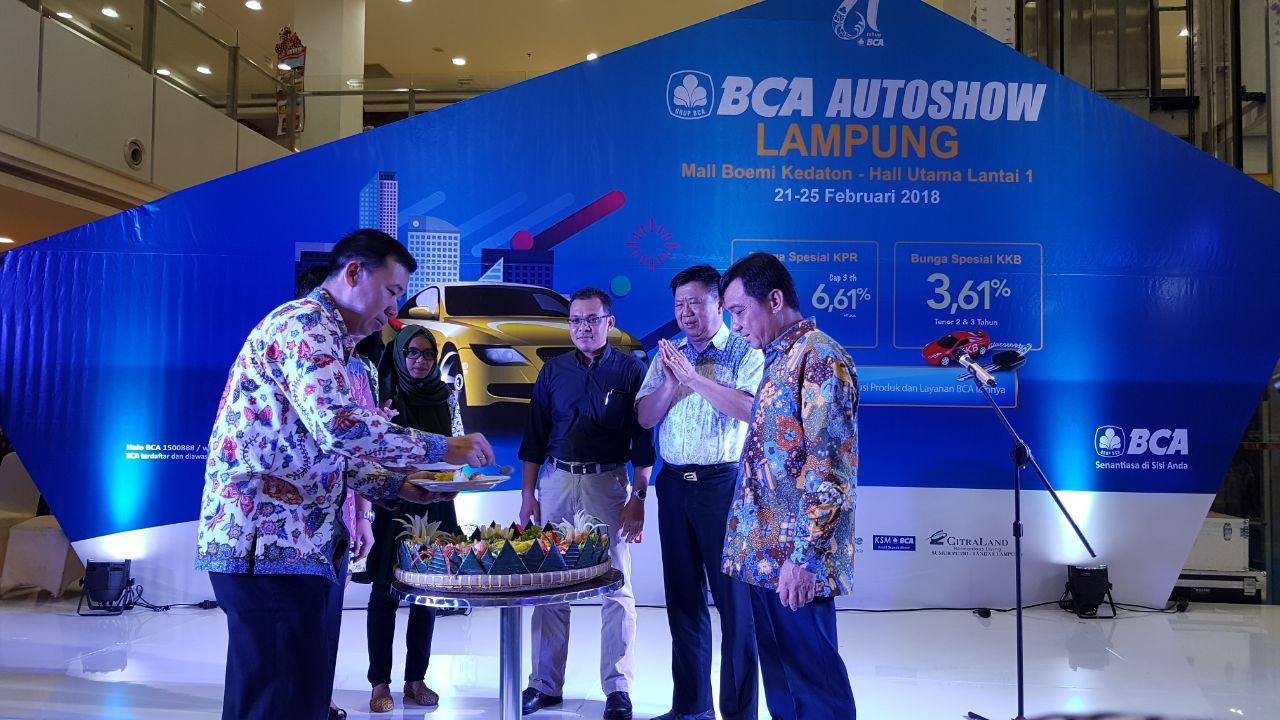 BCA Gelar Pameran Autoshow Berikan Suku Bunga Spesial Untuk Nasabah