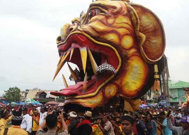 Pemkab Dukung Lestarikan Budaya Lewat Parade Ogoh-ogoh