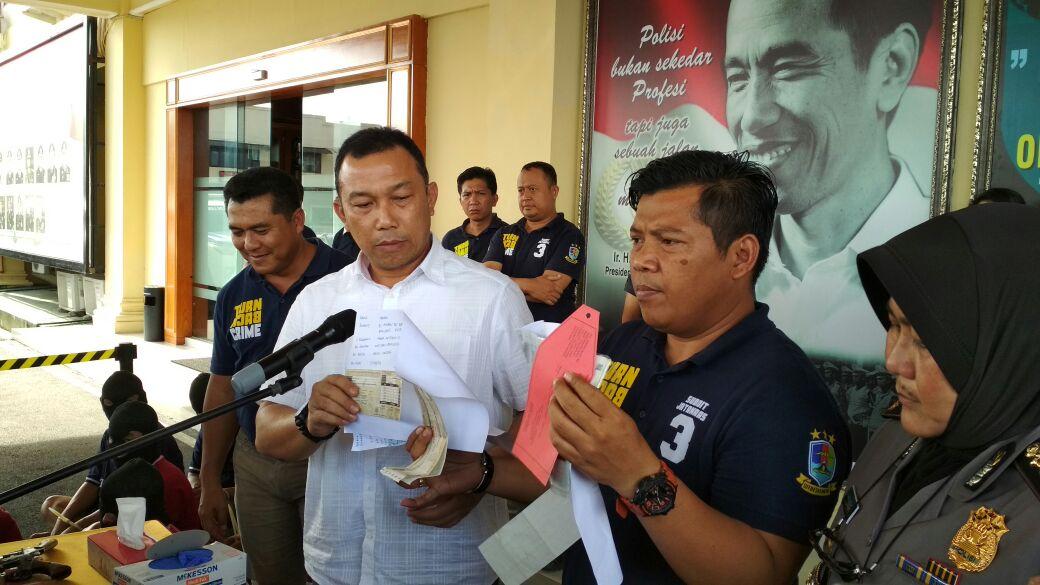 Polda Lampung Ungkap Pembuatan STNK Palsu