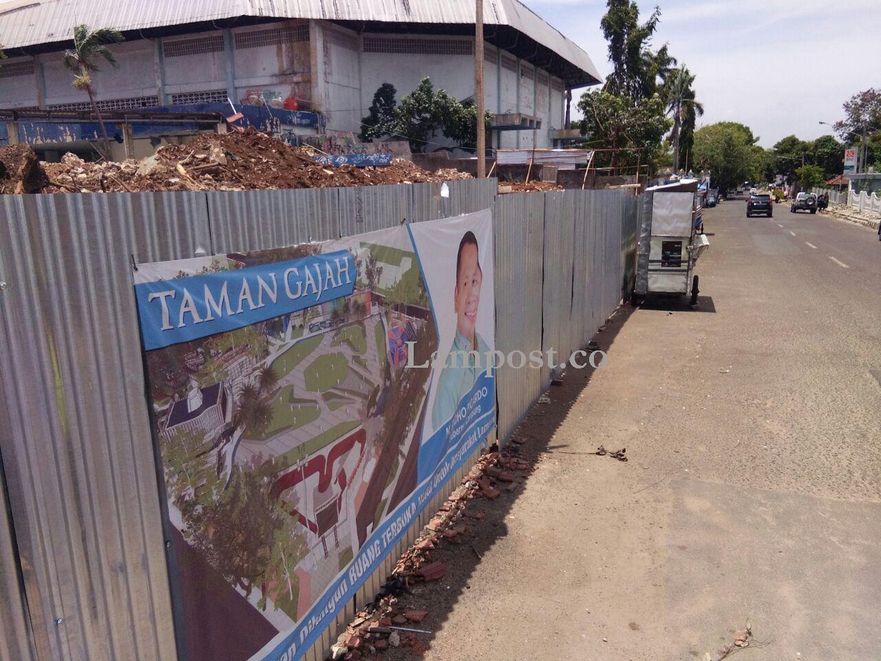 Warga Apresiasi Pembangunan Taman Gajah  di Enggal