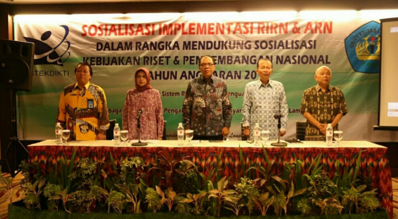 LPPM Unila Sosialisasi Implementasi Soal Riset Nasional