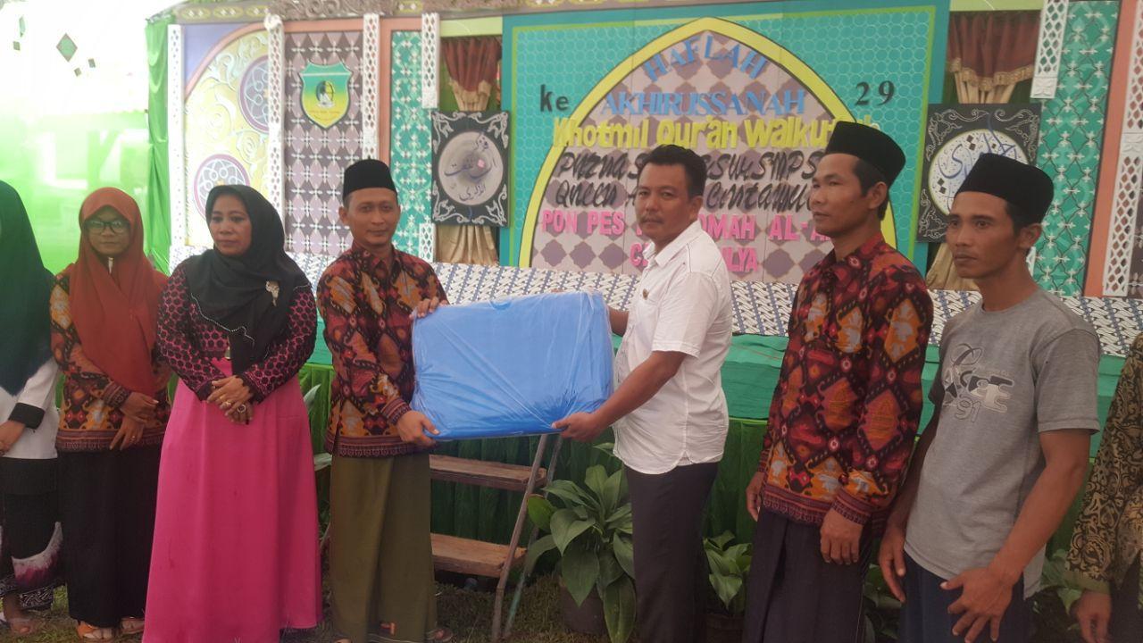 Dukung Program Gemar Makan Ikan, APCI Lampung Beri Bantuan Bioflok ke Pesantren Istiqomah Al Amin