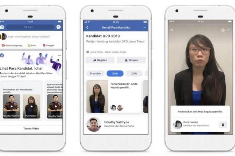 Facebook Buat Fitur Informasi Kandidat untuk Pemilu 2019