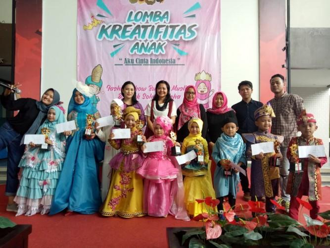 Fashion Show Muslim Anak Tanamkan Nilai Keislaman