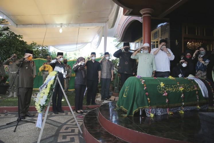 Fahrizal Lepas Jenazah Karo Pemotda Setprov Lampung