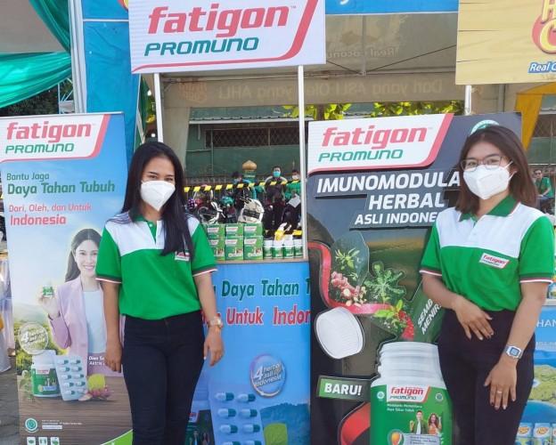 Fatigon dan Grab Ajak Masyarakat Jaga Daya Tahan Tubuh di Tengah Pandemi