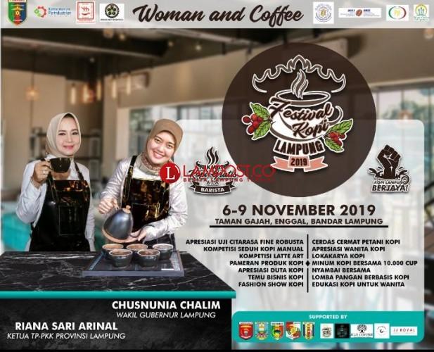 Festival Kopi Wujudkan Petani Lampung Berjaya