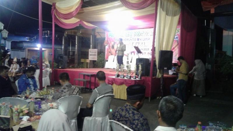 Festival Seni Budaya Klasik Lampung Ajang Silaturahmi Masyarakat Bakung