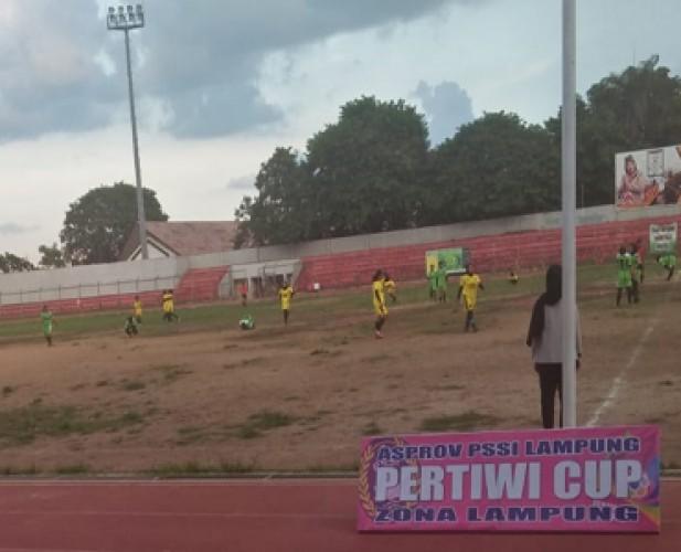 Final Piala Pertiwi Mempertemukan Persikomet Versus Teknokrat Lampung FC