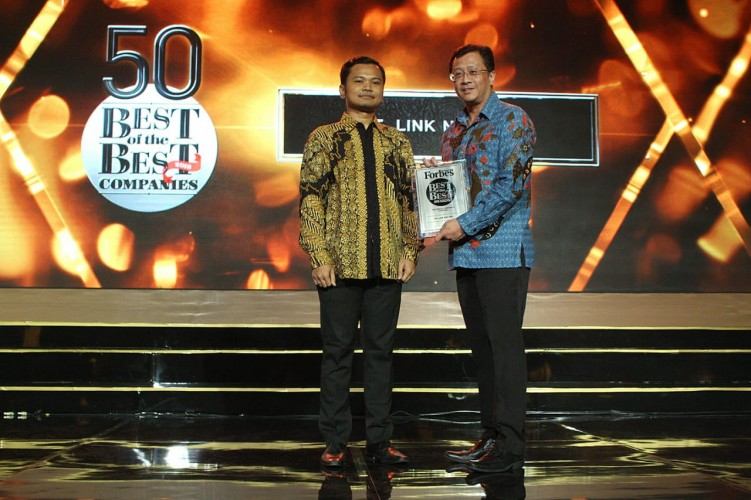 First Media Raih Penghargaan 50 Best of The Best Companies