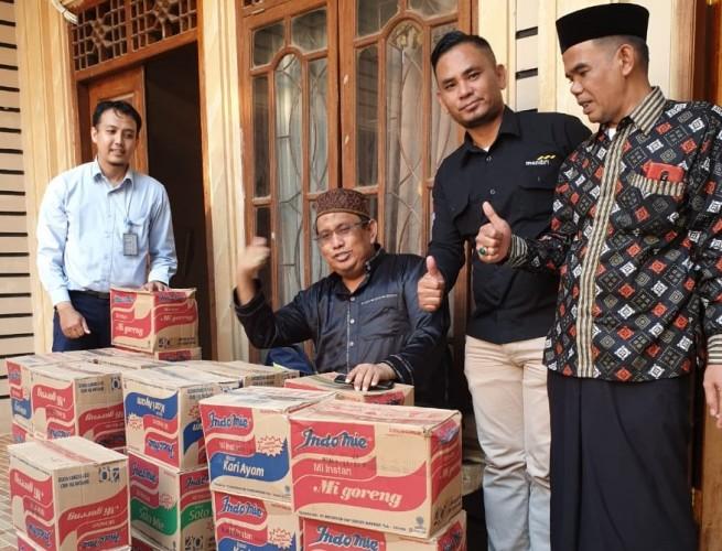 FKPP Salurkan Bantuan Korban Kebakaran di Kaliawi