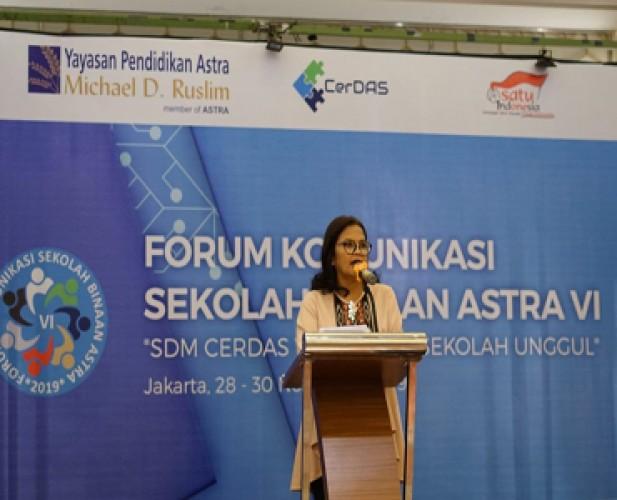 FKSB VI Komitmen Yayasan Pendidikan Astra Tingkatkan Mutu Pendidikan