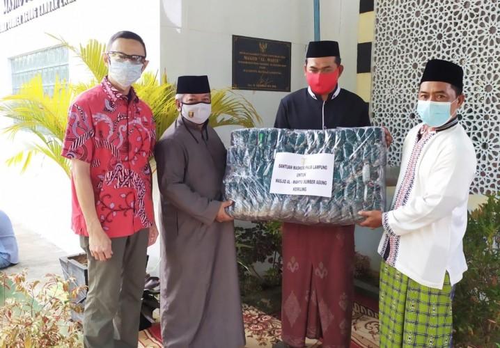 FKUB Lampung - PSMTI Lampung Bersinergi Bantu Jemaah Masjid
