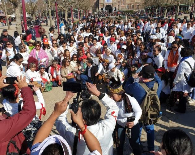 Flashmob Paijo-Paimin Rayakan Pesta Demokrasi