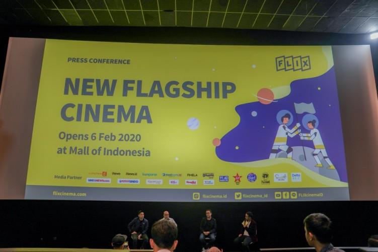 FLIX Cinema Kenalkan Site Ketiga di Mall Of Indonesia