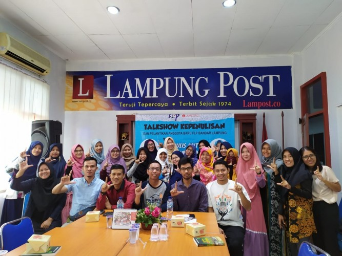 FLP Bandar Lampung Gelar Talkshow Kepenulisan
