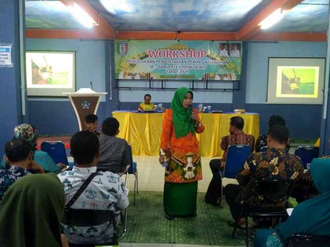 Forum Literasi Lampung Latih Ratusan Pengelola Perpustakaan Desa
