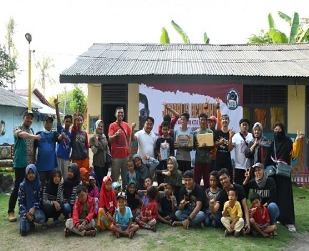 Forwako Bandar Lampung Berikan Bansos untuk Warga Pulau Tegal