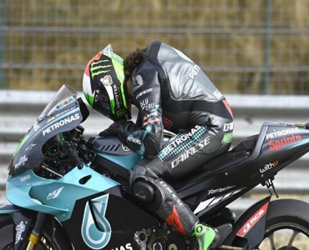 Franco Morbidelli Duduki Podium Pertama MotoGP Teruel