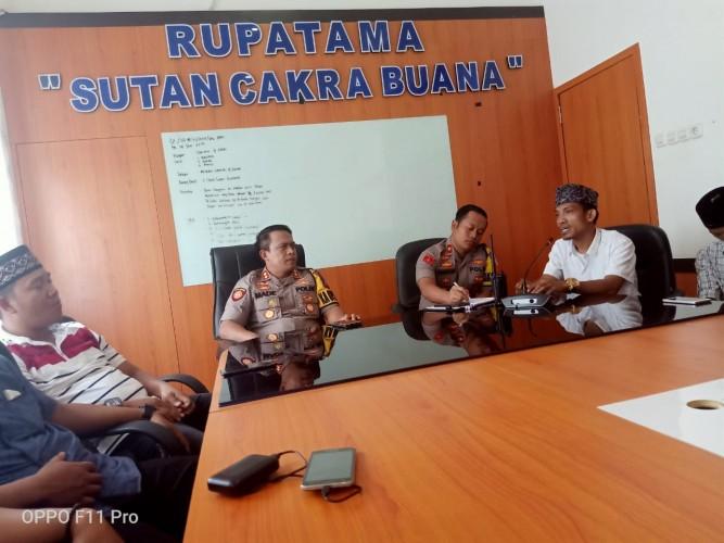 FSMM Silaturahmi  dengan Kapolres Lampung Tengah