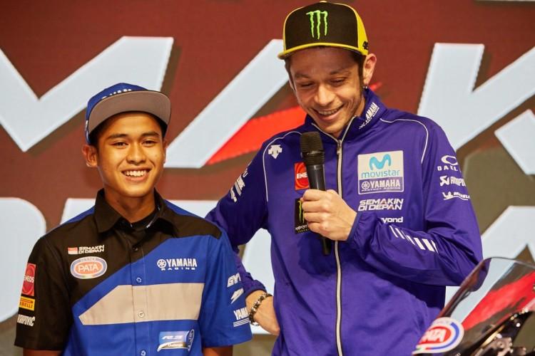 Galang Hendra Raih Podium, Valentino Rossi Beri Respons