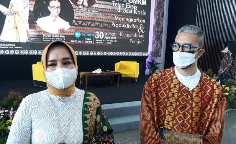 Gali Kekhasan Daerah Jadi Potensi Unggulan Perajin Lampung