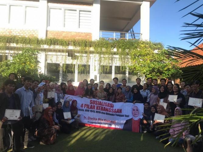 Gandeng UBL, Dwita Ria Sosialisasikan 4 Pilar Kebangsaan kepada Ratusan Mahasiswa
