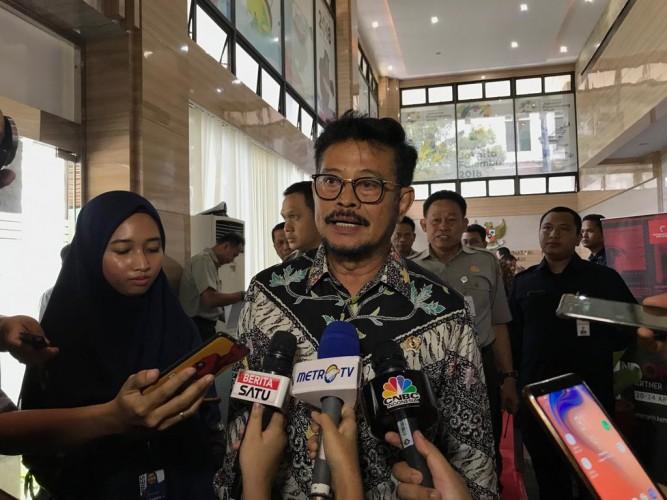 Gantikan Luhut, Syahrul Yasin Limpo Jadi Menteri KKP Ad Interim