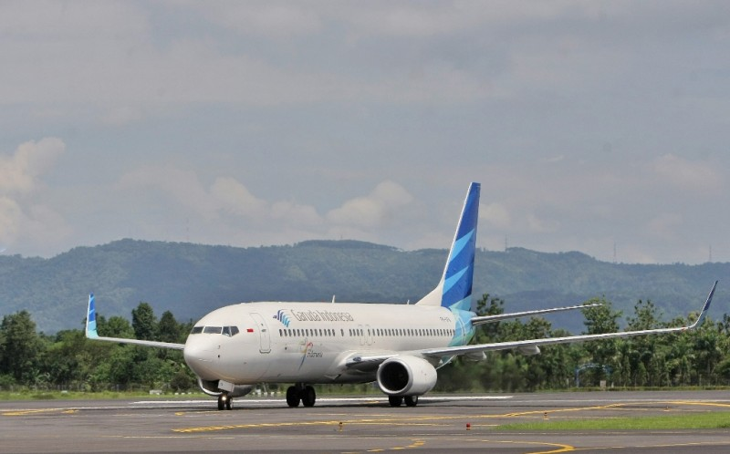 Garuda Bersih-Bersih Pesawat Bekas Penumpang Virus Korona