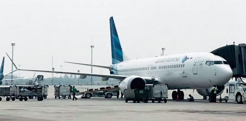Garuda Indonesia dan DireksiDidenda Masing-Masing Rp100 Juta