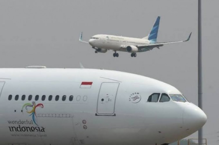 Garuda Indonesia Merugi USD100 Juta Setiap Bulan