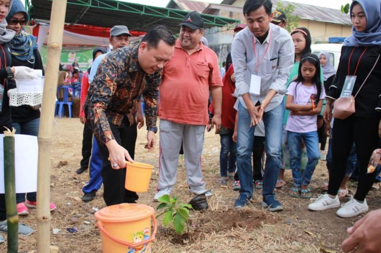 Garuda KBK Ajak Warga Kalibalau Peduli Lingkungan dengan Tanam Pohon