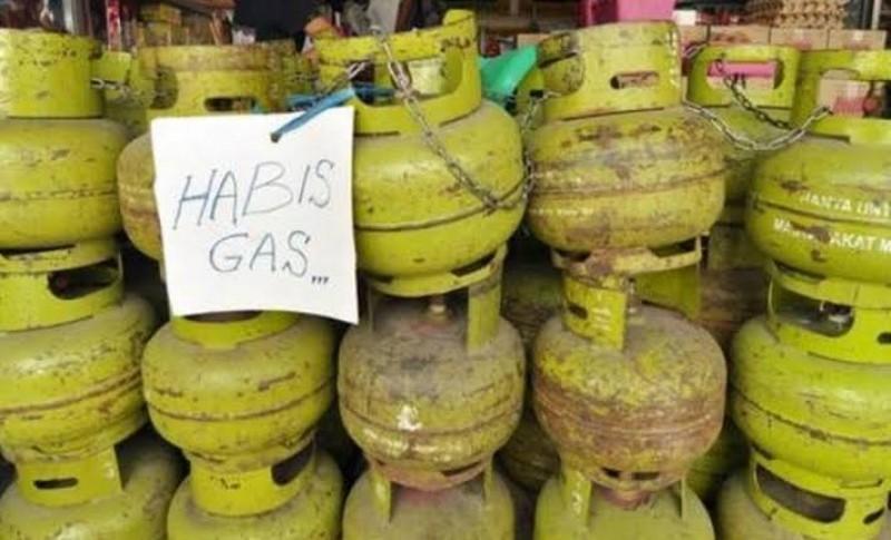 Gas Elpiji 3 Kg di Bandar Lampung Langka