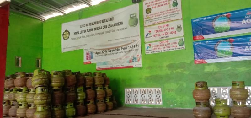 Gas Elpiji 3 Kg di Tubaba Langka Akibat Banyak Dibeli Warga Mampu