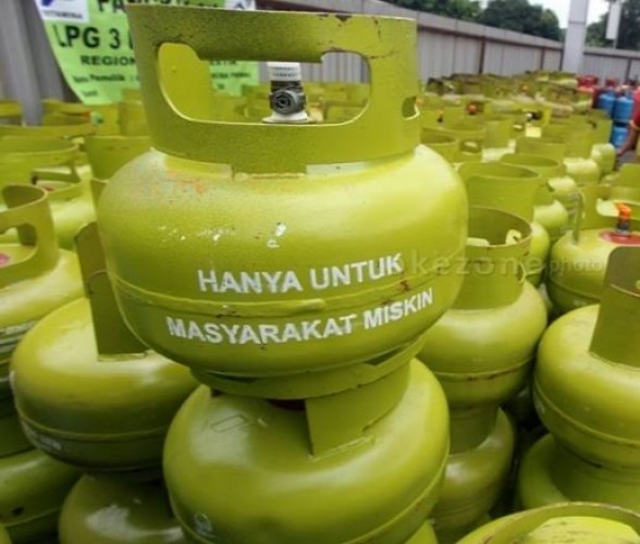 Gas Elpiji 3 Kg Langka di Tanggamus