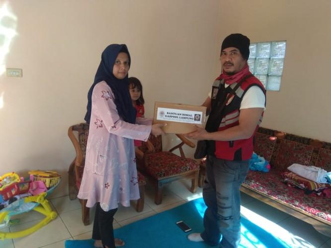 GASPOOL Beri Bantuan Pengemudi Ojol Korban Penusukan