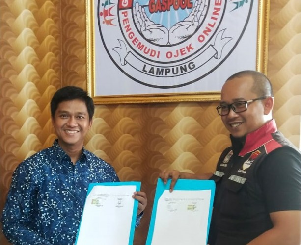 Gaspool-Lazdai Lampung Kerja Sama Pengumpulan Zakat dan Sedekah