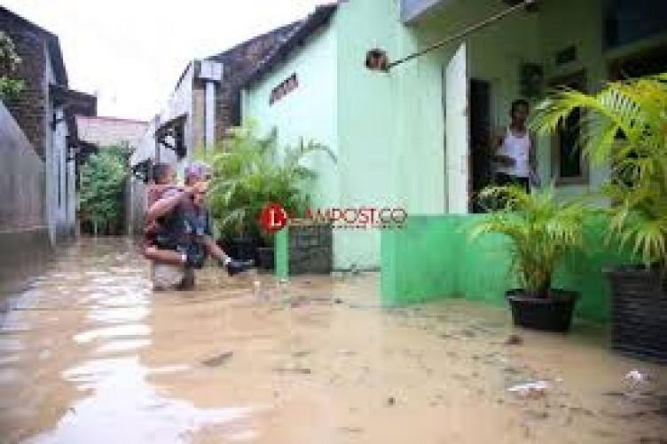 Gedong Tataan Terdampak Banjir Terparah