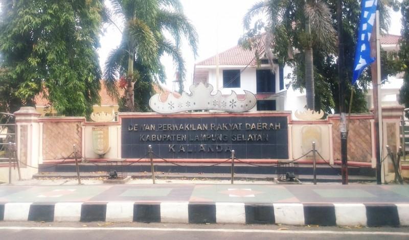 Gedung DPRD Lampung Selatan Tutup Sementara