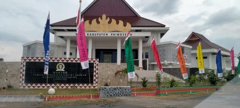 Gedung DPRD Pringsewu Ditutup Sementara