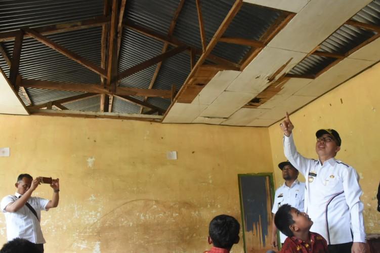 Gedung SD Rusak Parah di Lamtim Segera Diperbaiki