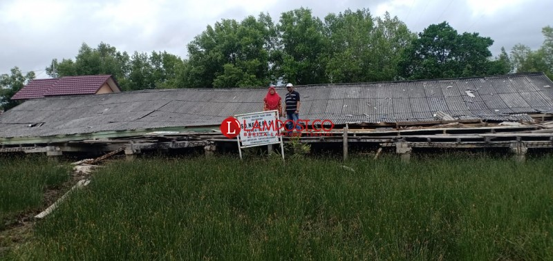 Gedung SDN 1 Sungaiburung Sempat Diperbaiki Sebelum Ambruk