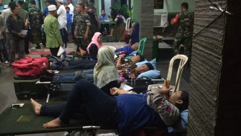Gelar Agenda Donor Darah Malam Hari, Kodim 0410 Target Kumpulkan 100 Kantong Darah