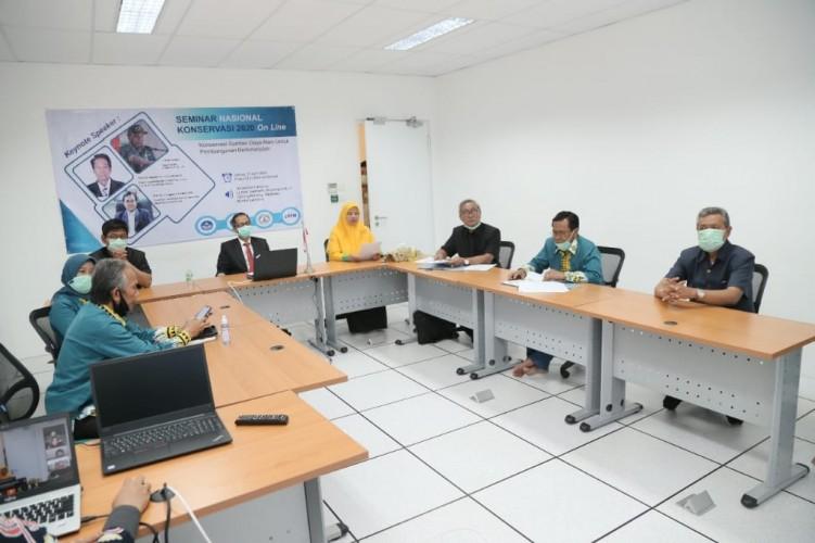 Gelar Seminar Konservasi, Unila Ingin Bangun Lingkungan Yang Ramah