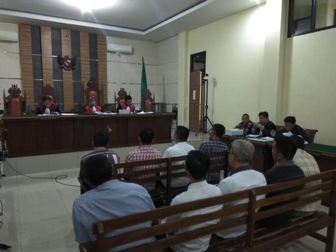 Gelar Sidang Lanjutan Kasus Proyek di Lamsel, Hakim Sebut Proyek Dilelang Secara Abal-abal