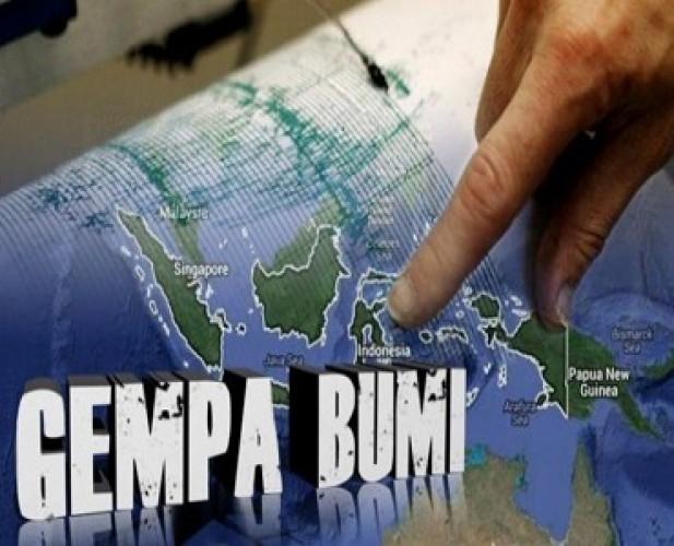 Gempa Bumi Tektonik 4.0 SR Guncang Pesisir Barat