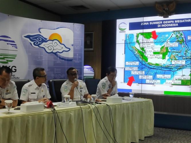 Gempa di Malut Disebabkan Penyeseran Dalam Lempeng Laut